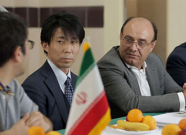 بازدید مدیران ژاپنی از کارخانه